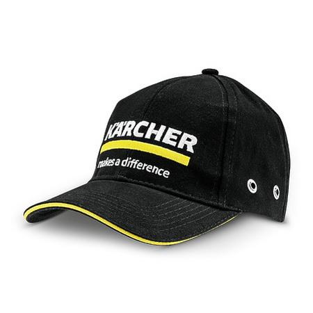 Кепка с логотипом, чёрная Karcher   0.017-529.0