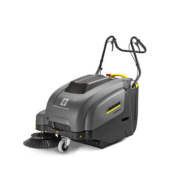 KM 75/40 W Bp Pack (подметально-всасывающая машина с ручным управлением / тяговым приводом / аккумуляторным питанием / батареей и зарядным устройством в комплекте поставки)