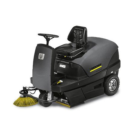 KM 100/100 R G (подметально-всасывающая машина с сиденьем водителя / бензиновым двигателем)