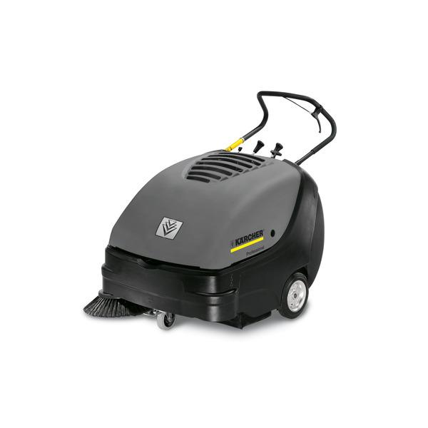 KM 85/50 W Bp Pack (подметально-всасывающая машина с ручным управлением / тяговым приводом / аккумуляторным питанием / батареей и зарядным устройством в комплекте поставки)