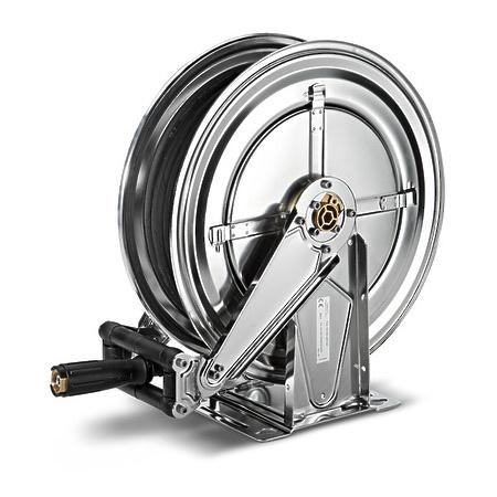 Автоматический барабан для шланга, из нерж. стали, 20 м | 2.642-836.0