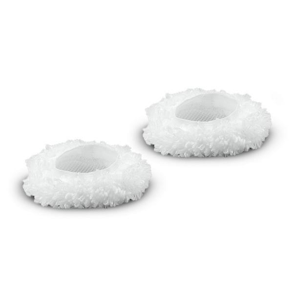Комплект микроволоконных обтяжек для большой круглой щетки