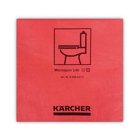 Салфетки из микроволокна Microspun, красные, Karcher | 3.338-247.0