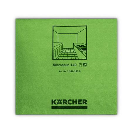 Салфетки из микроволокна Microspun, зеленые, Karcher | 3.338-250.0