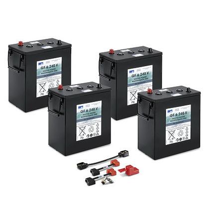 Комплект батарей 24 В \ 240 Ач | 4.035-393.0