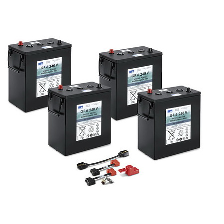 Комплект батарей 36 В \ 240 Ач | 4.654-306.0
