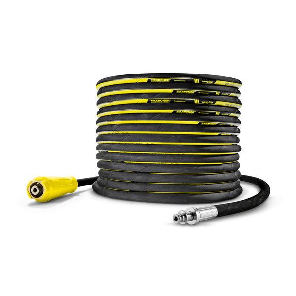 Шланг высокого давления Longlife 400, с AVS-разъемом для барабана, НД 8, 400 бар, 20 м, ANTI!Twist, Karcher | 6.110-028.0