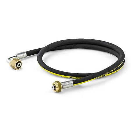 Шланг высокого давления с угловым отводом, 1 × EASY!Lock, 1 × M22 × 1,5, НД 8, 400 бар, 1,5 м, Karcher | 6.110-068.0
