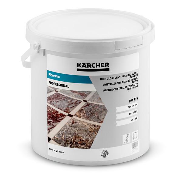 Порошковое средство для кристаллизации с приданием блеска RM 775 5 кг   6.295-117.0