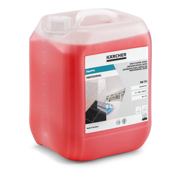 Kислотное средство для общей чистки полов RM 751 10 л   6.295-129.0
