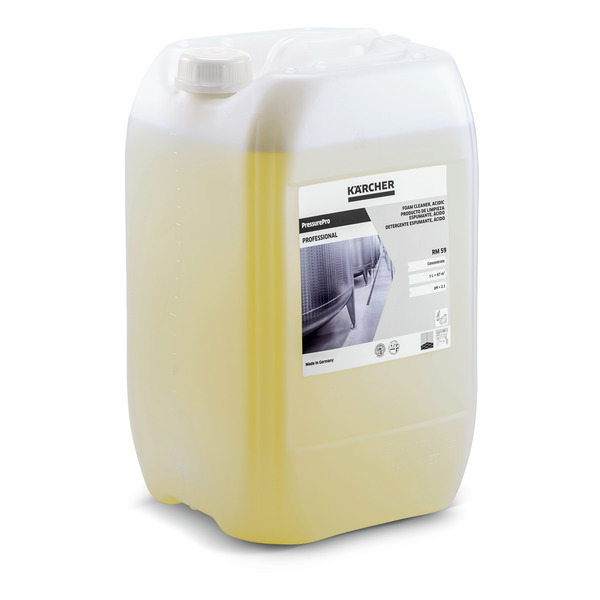 Кислотное средство для пенной чистки RM 59 20 л | 6.295-192.0