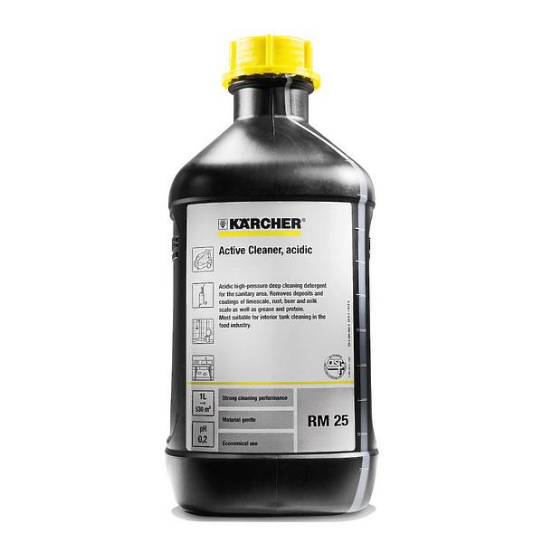 RM 25 кислотное активное чистящее средство 2,5 литра