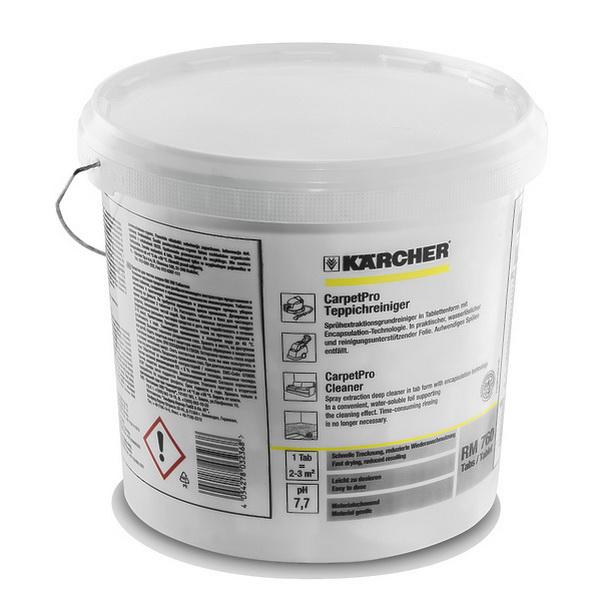 Порошковое средство для чистки мебели и ковров RM 760 (в таблетках) 200 шт | 6.295-851.0
