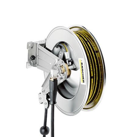 Автоматический барабан для шланга Karcher, из нерж. стали, с поворотным кронштейном, 20 м | 6.392-076.0