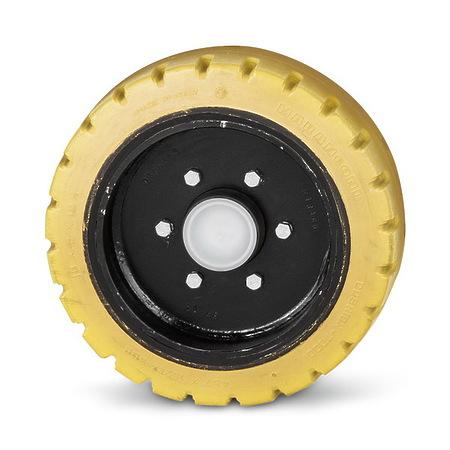 Переднее колесо повышенного сцепления, не оставляющее следов   6.680-377.0