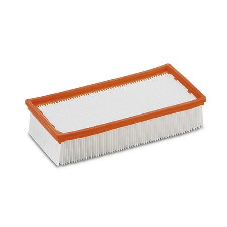 Плоский складчатый фильтр, из полиэфирного шелка | 6.904-284.0