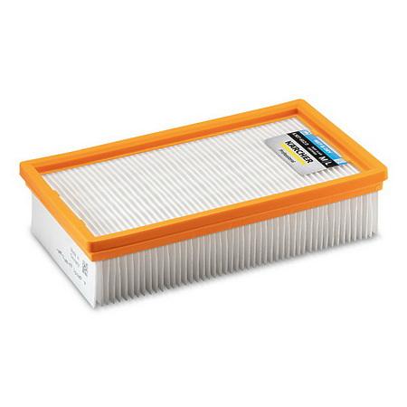 Плоский складчатый фильтр, из полиэфирного шелка, в упаковке | 6.907-662.0
